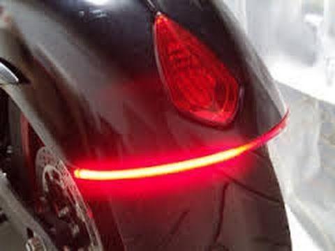 How to customize motorcycle led lights dual voltage and how to customize motorcycle led lights dual voltage and brightness for tail lights youtube aloadofball Choice Image