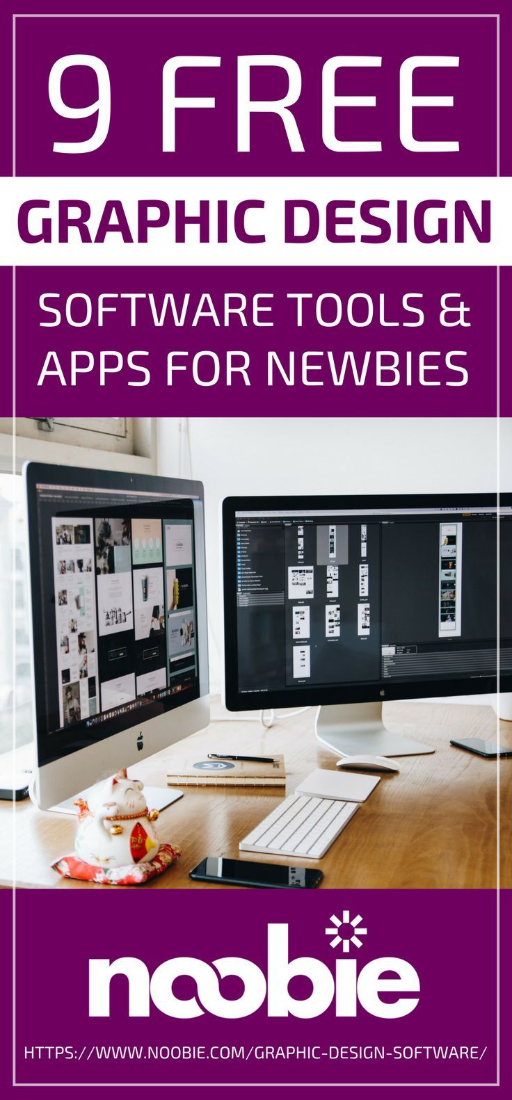Free Graphic Design Software Tools & Apps For Newbies