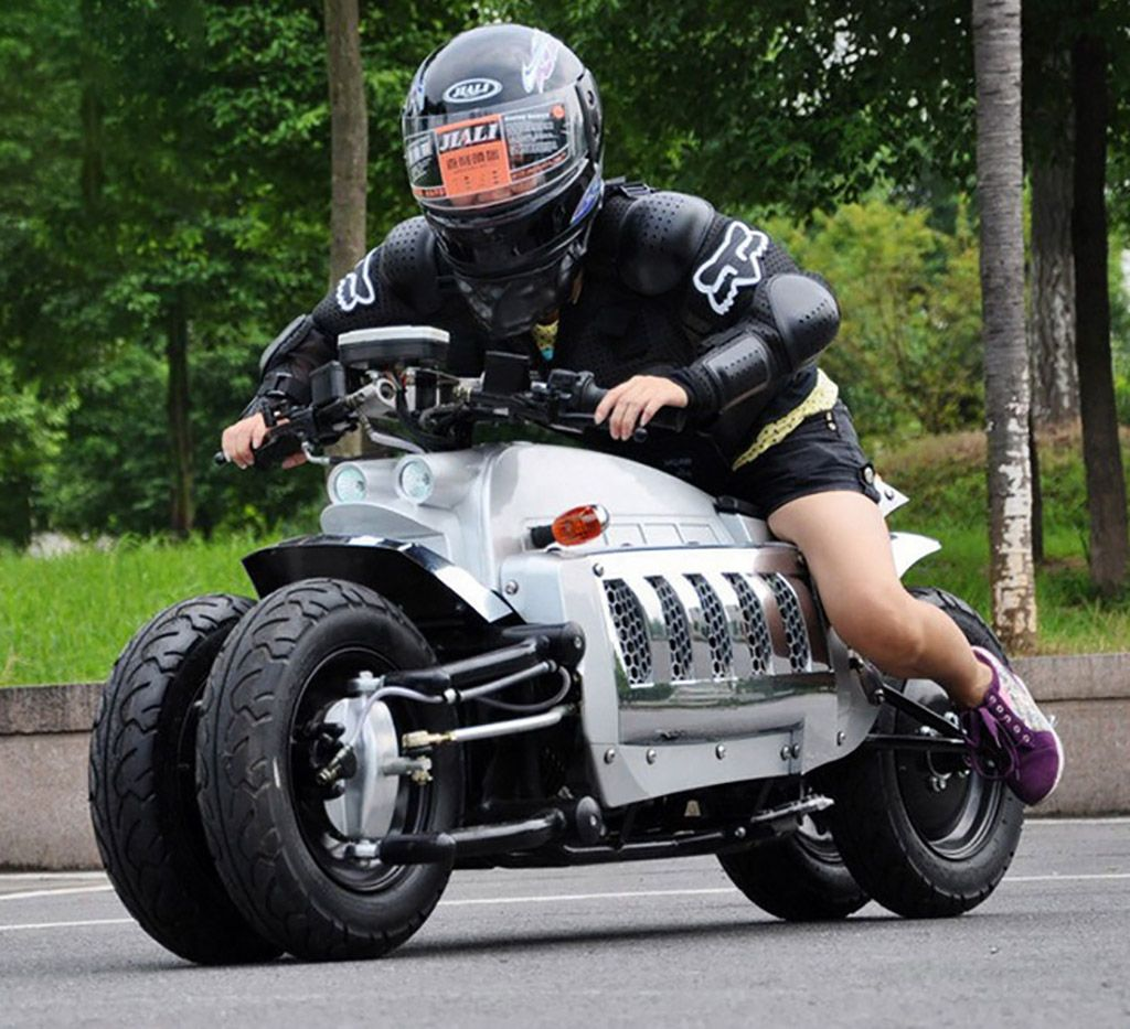 Mini Dodge Tomahawk May Look Cool But It S Most Certainly Not Fast New Dodge Motorcycle 150cc