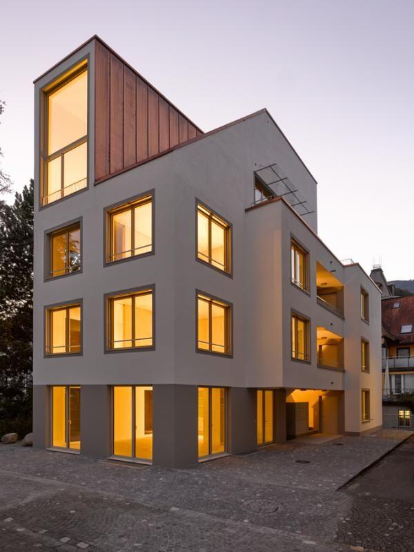 Projekt neubau mehrfamilienhaus grundstrasse durrer for Mehrfamilienhaus neubau