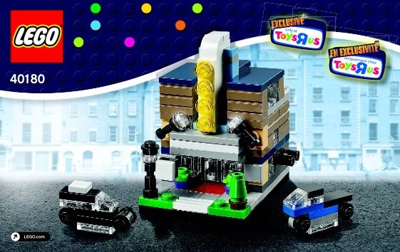 View Lego Instructions For Bricktober Theater Set Number 40180 To