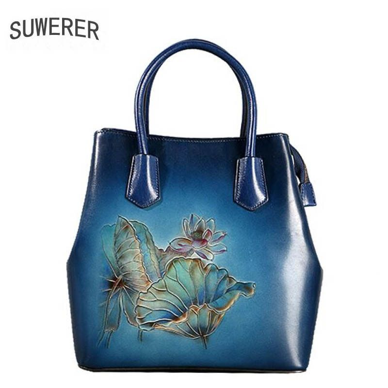 Genuine Leather women bags for women 2018 new Fashion luxury Handmade handbags  designer bags handbags women d4e8ae790863b