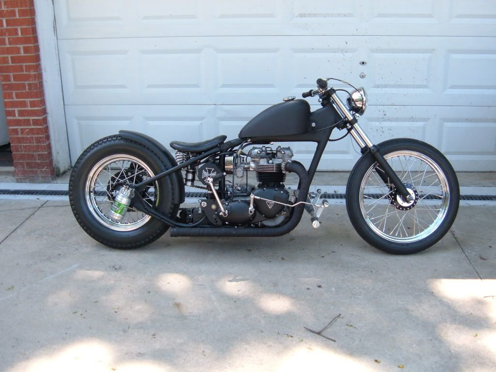 bobber triumph #2 | bobbers, bobber motorcycle and rats