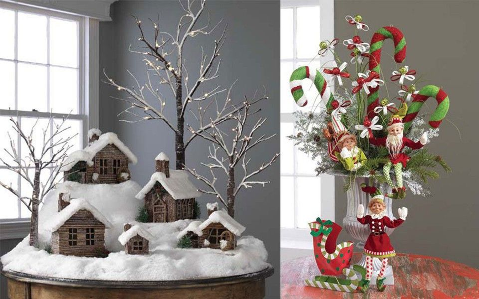 Simple christmas decorations for home