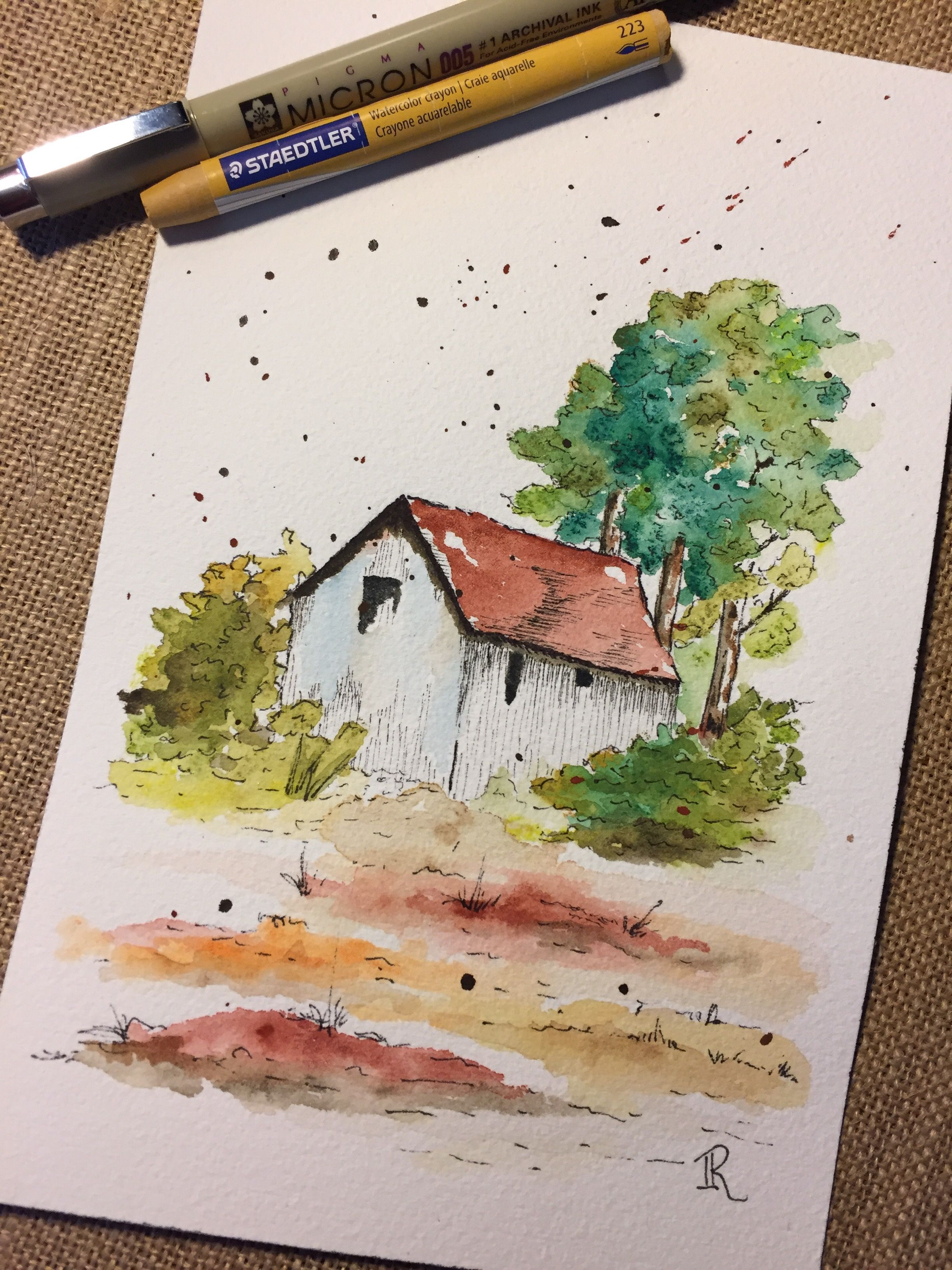 Watercolor Landscape Watercolor Painting Techniques Watercolor