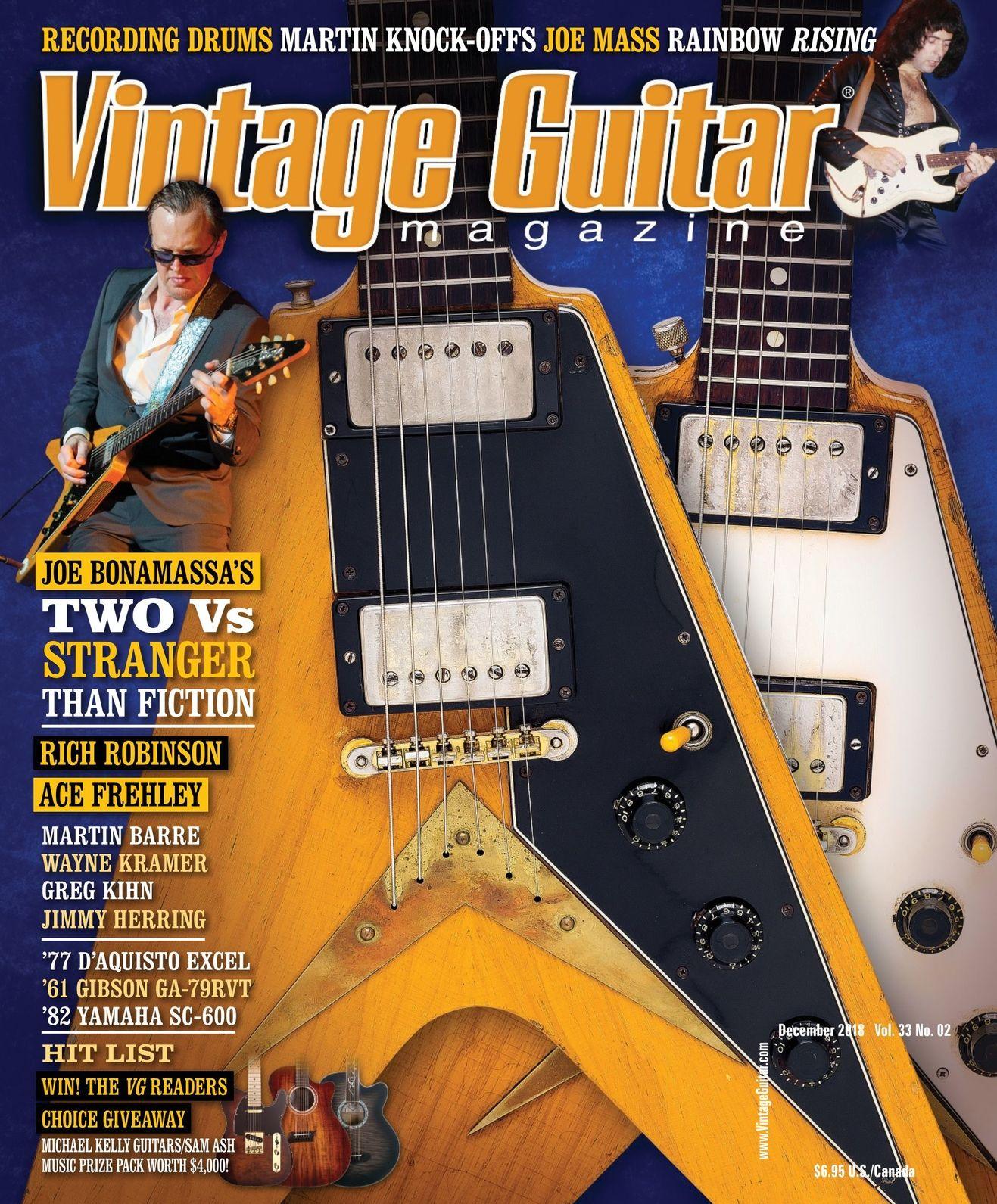 Vintage Guitar December 2018 Open