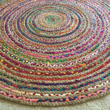 Round Boho Rugs