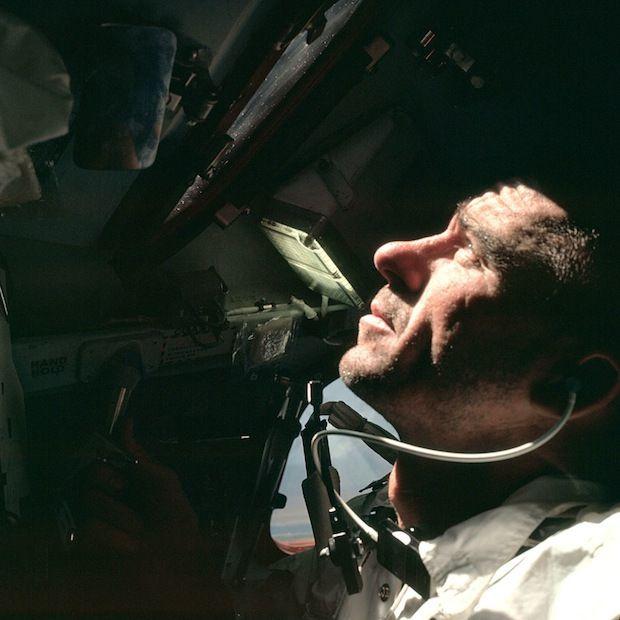 Apollo 7 astronaut Wally Schirra
