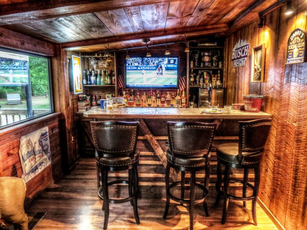 Diy L Shape Man Cave Bar Basement Bar Designs Basement Bar Man