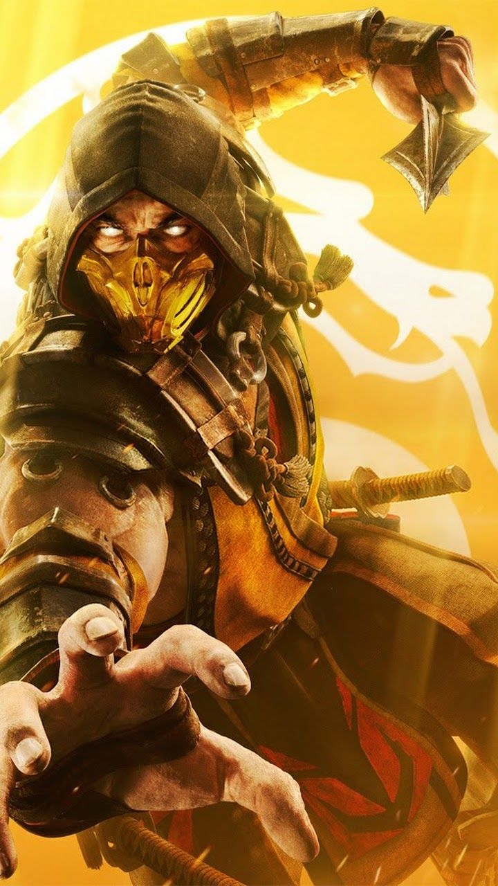 Scorpion Mortal Kombat 11 Wallpaper Mortal Kombat Scorpion