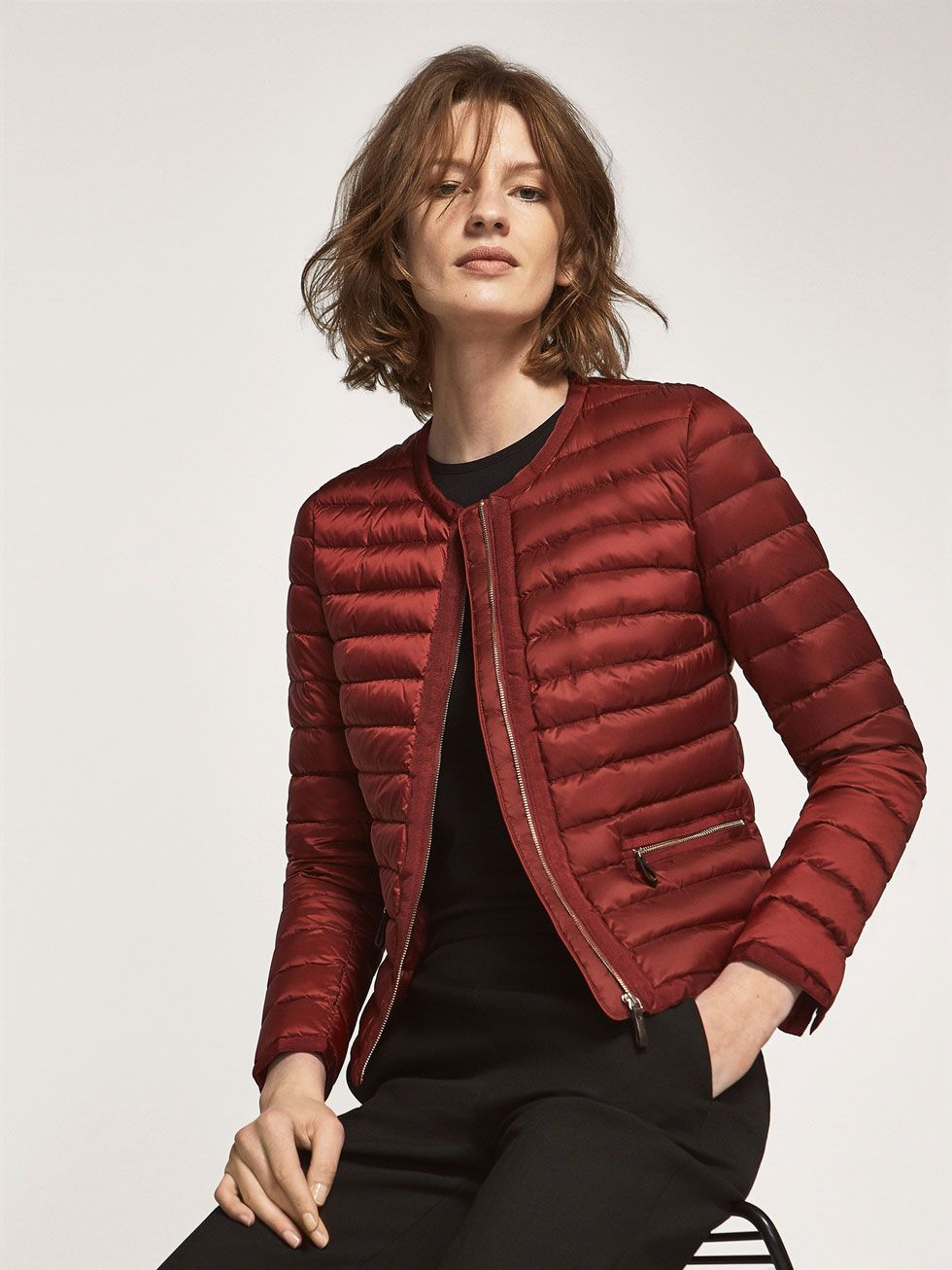 Autumn Spring summer 2017 Women´s QUILTED SHORT JACKET at Massimo ...