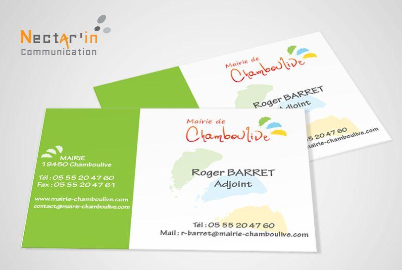 Cartes De Visites Logo Tete De Lettre Cartes De