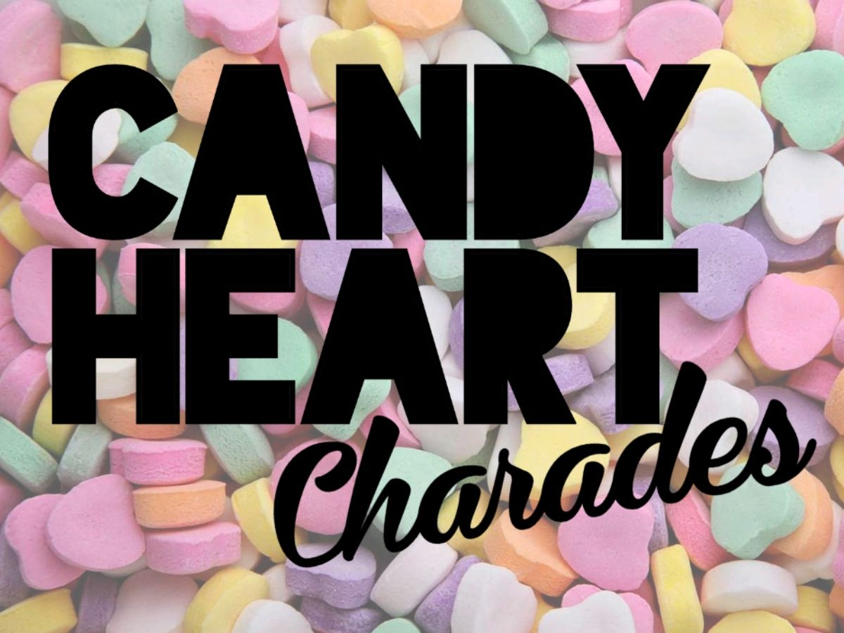 Groupgames Candy Heart Charades