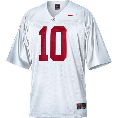 Blake Sims Alabama Crimson Tide Football Jersey-White