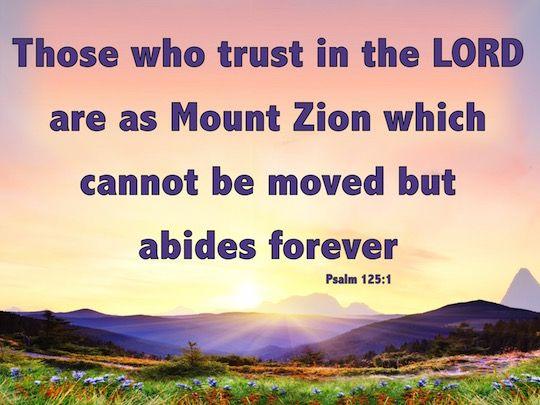 Psalm 125:1 | Psalms