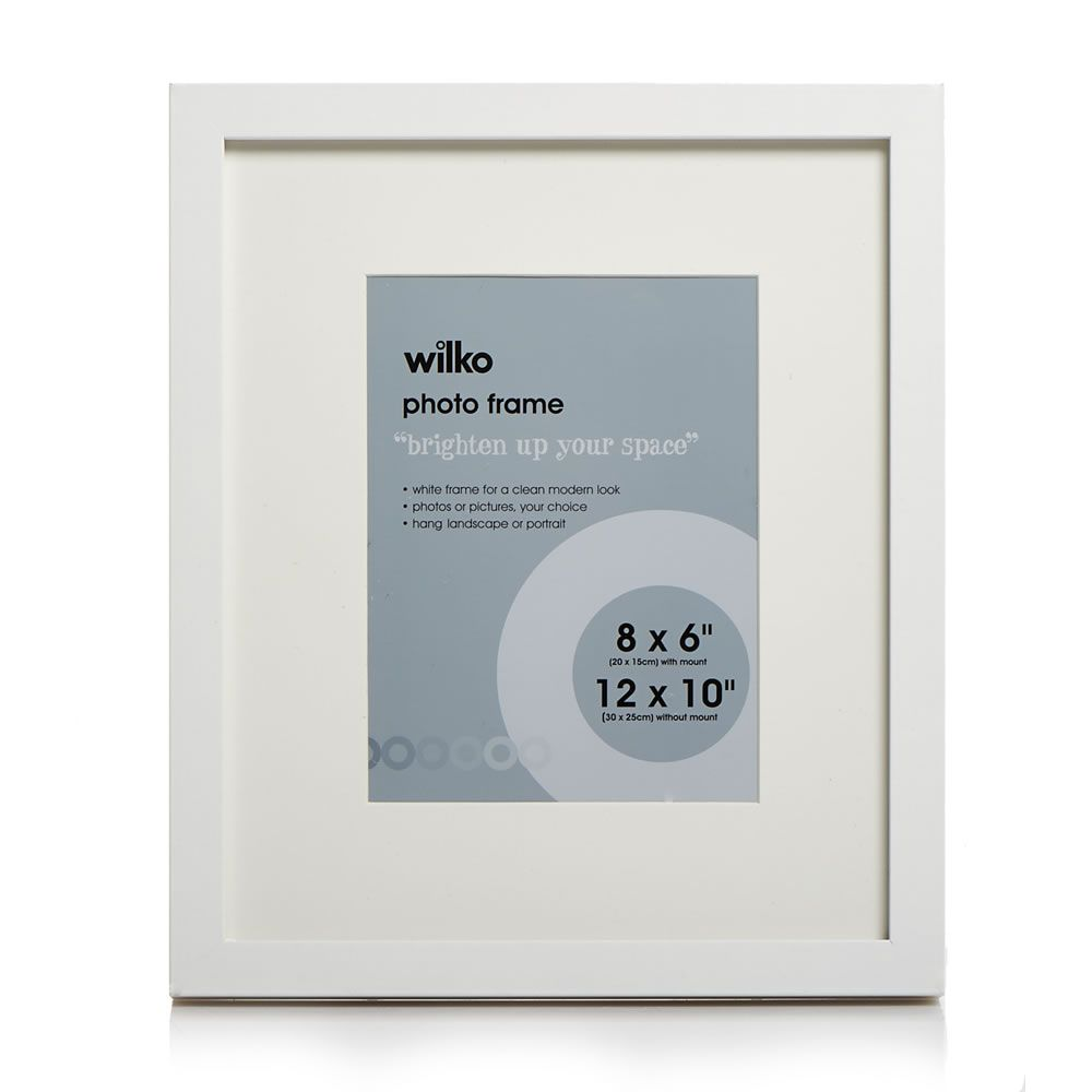 Wilko White Photo Frames Photo Frame Wilko