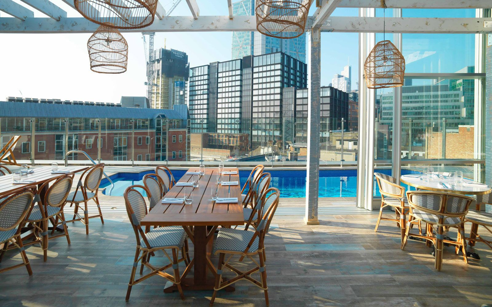 The Best Hotel Pools For Incredible Views Hotel Pool London