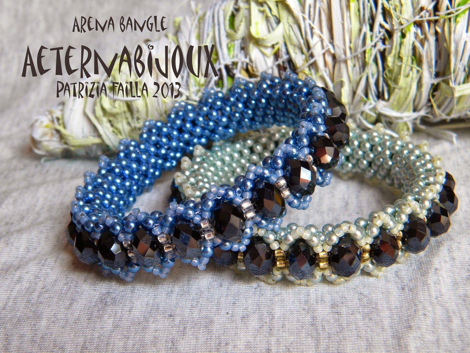 AETERNA BIJOUX by Patrizia Failla jewelry designer: PF 09 ARENA BANGLE (PDF: 28 pagine)  Italiano/ Eng...