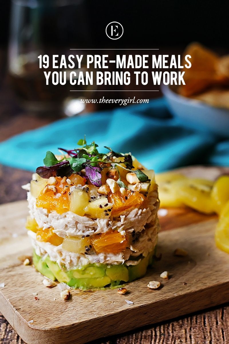 19 easy lunch recipes you can meal prep on sunday recipes 19 easy pre made meals you can bring to work theeverygirl forumfinder Choice Image