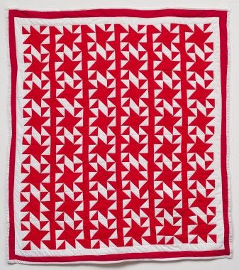 Ruth Kennedy: Eccentric Star, 2009.  Gee's Bend Quilters Collective