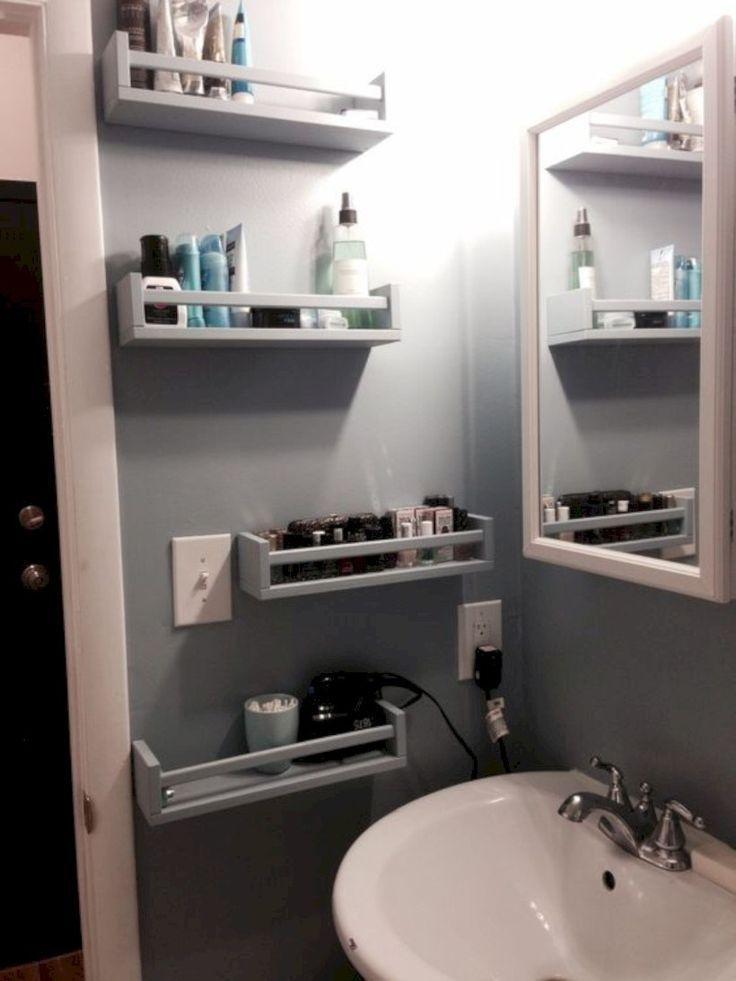 Photo of 15 ideas for smart DIY storage solutions for tiny bathrooms – #bathroom #DIY ….
