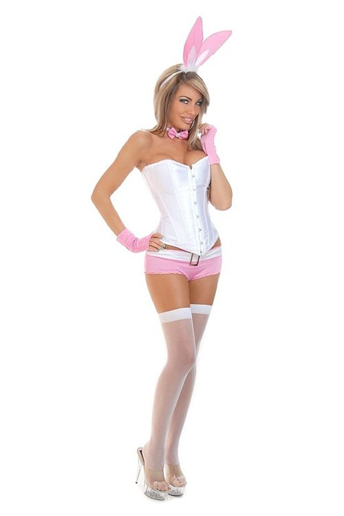 pink tuxedo bunny costume bunny playboy bunny costumes. Black Bedroom Furniture Sets. Home Design Ideas