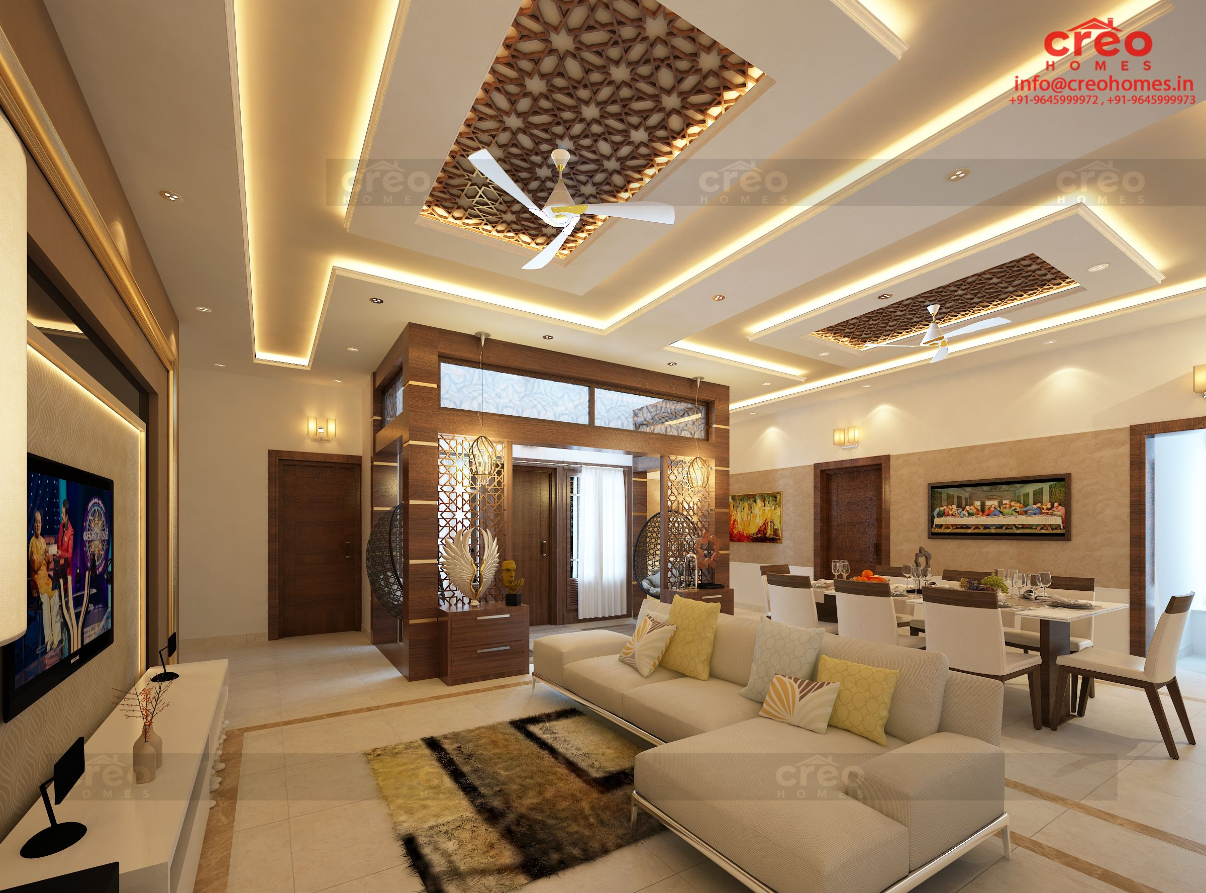 Creo Homes The Best Interior Designers In Kochi Has Been Recognized Nationwide For Its Excellence In Construc Kerala House Design Interior Designers Interior