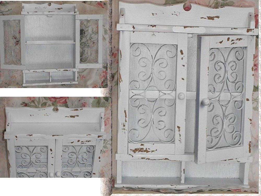 Shabby Chic Wall Cabinet Lovely