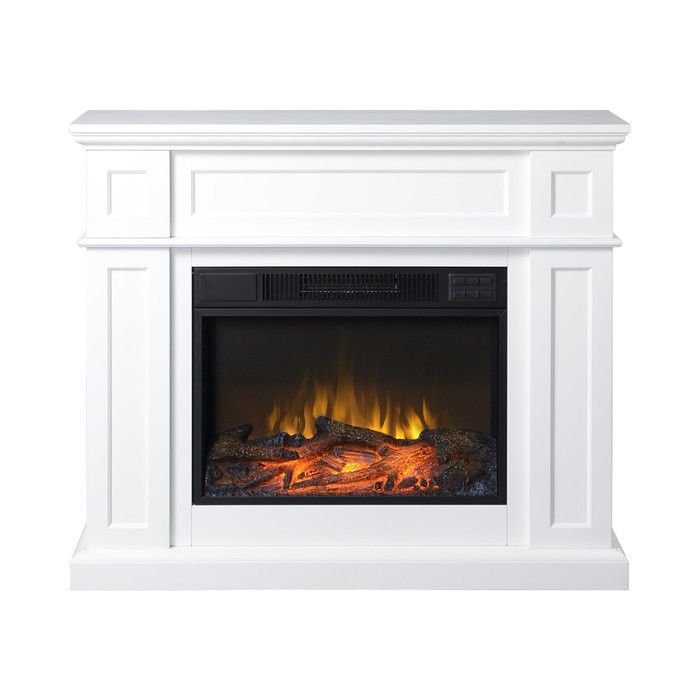 Homestar Flamelux Electric Fireplace Reviews Wayfair White Electric Fireplace Electric Fireplace Fireplace Mantels