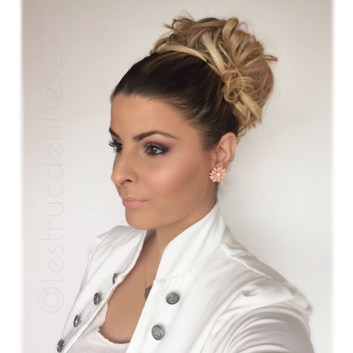 1000 Images About Idee Coiffure On Pinterest Coiffures Coupe