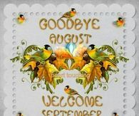 Goodbye August Hello September Picture