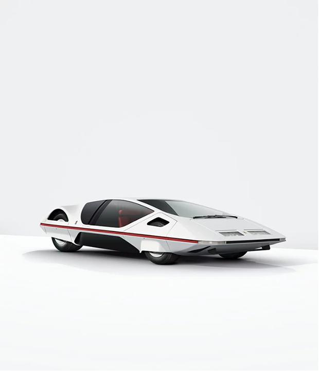 Wedged Wonders: Série Mostra O Futurismo Dos Carros