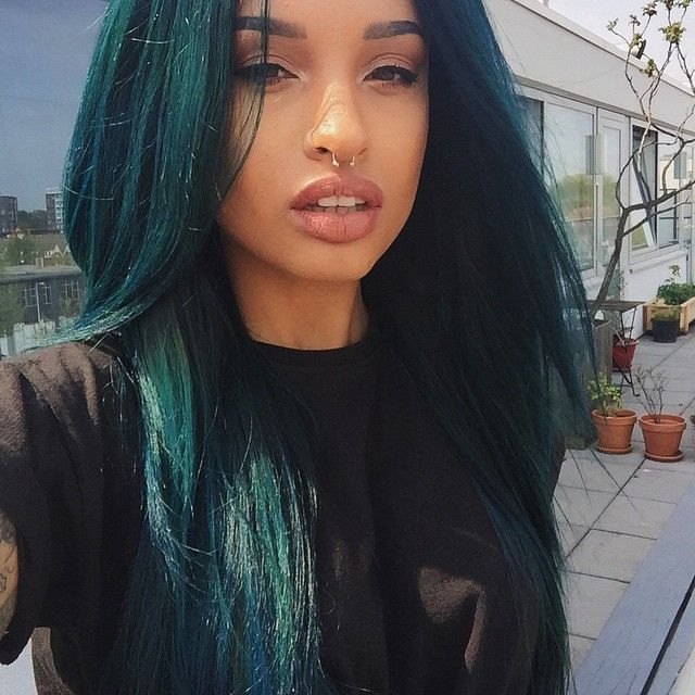 Dark Teal Hair - Google Search (With Images)