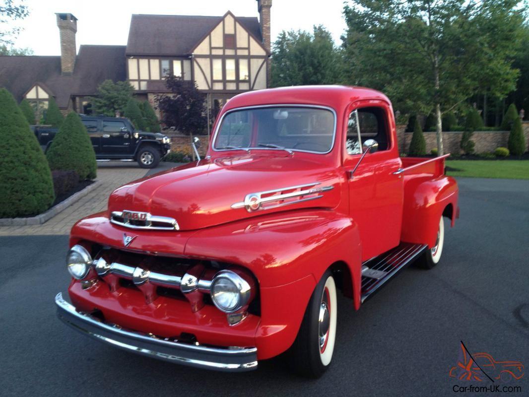 1952 Ford Pickup Truck Ford Pickup Trucks Ford Trucks Classic