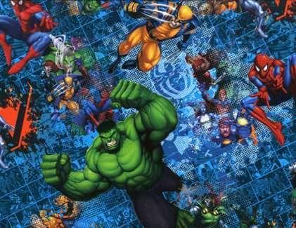 Ultimate Avengers Comic Blast Star Wars Fabric Geeky