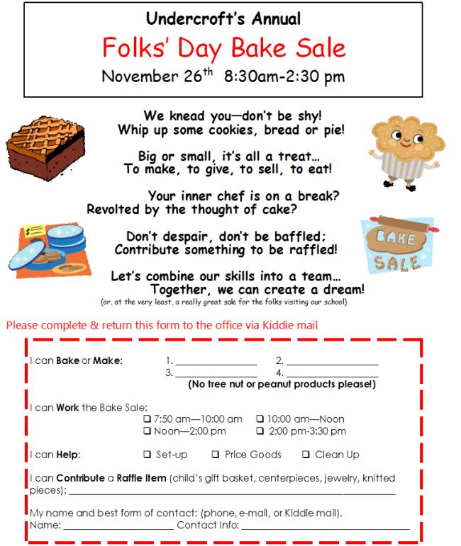 folks day bake sale flyer 2013 sweet treats in 2018 pinterest