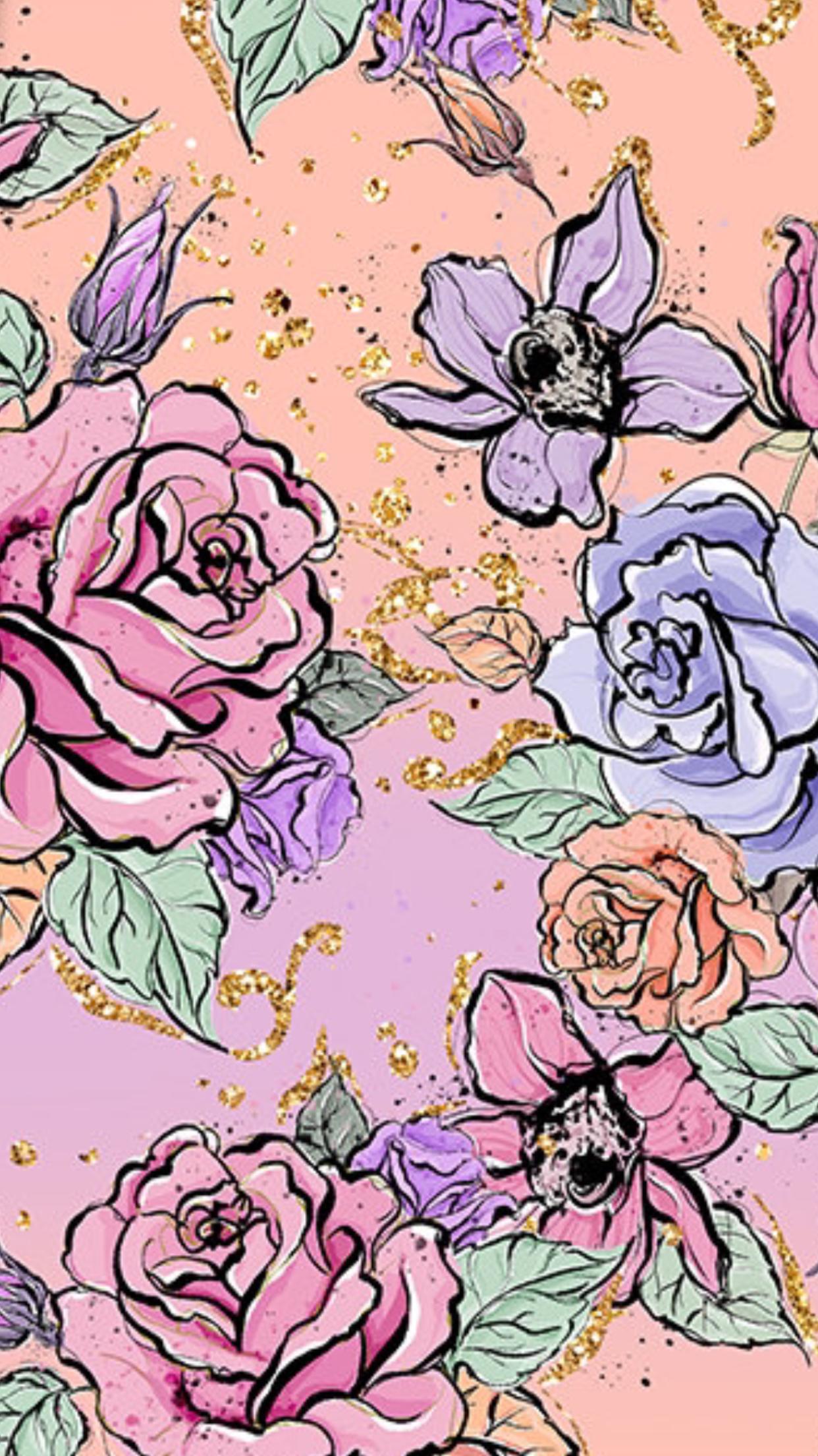 Pinterest Enchantedinpink Flower Phone Wallpaper