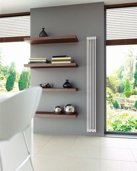 Brookly Robuuste woonkamer radiatoren in WIT, betaalbare design ...