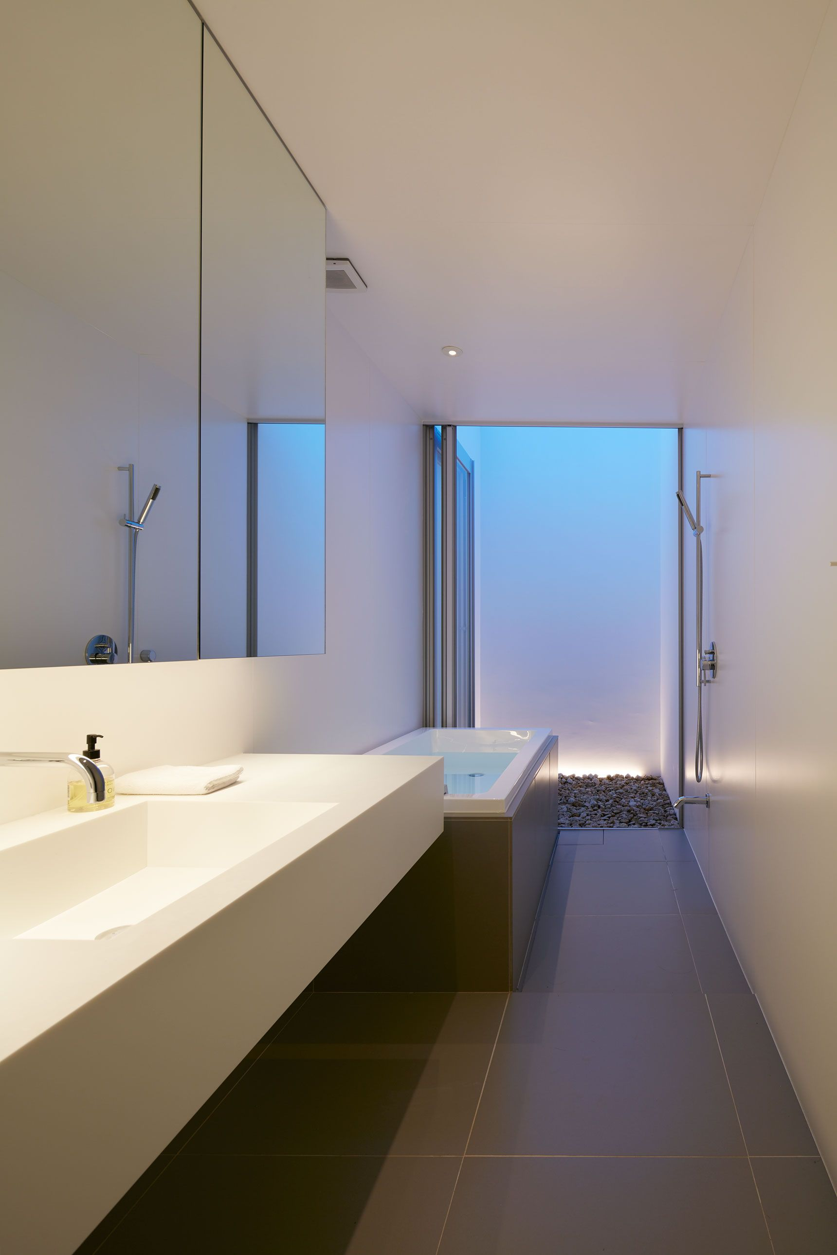Colorful Japanese Bathrooms Design Composition - Bathroom - knawi.com
