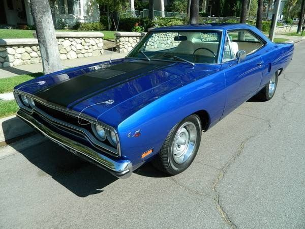 Used Classic Car For Sale in , California: 1970 Plymouth Roadrunner