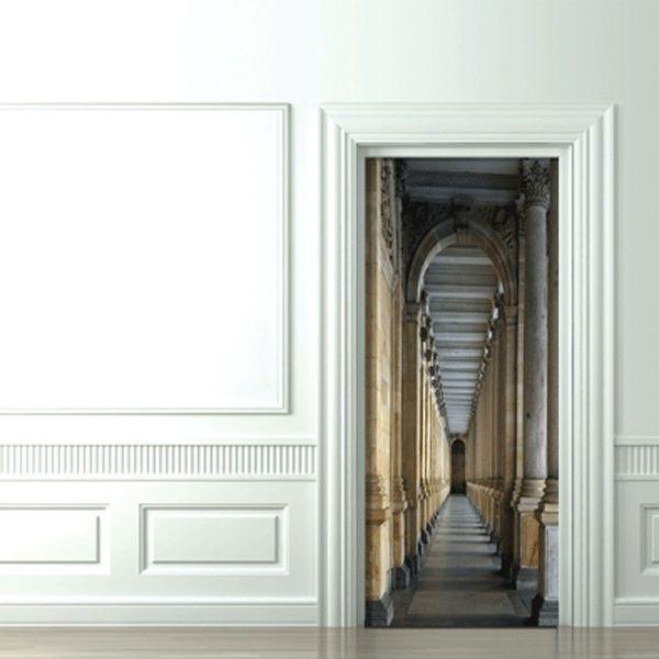 Wallpaper For Doors Castel Corridor Doors Trompe L Oeil Http