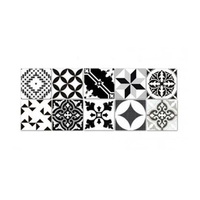 Stickers pour carrelage salle de bain ou cuisine bento - Stickers pour carrelage mural cuisine ...