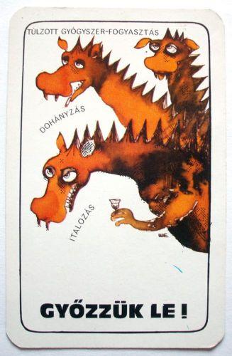 Hungarian-Pocket-Calendar-Red-Cross-Hungary-1983