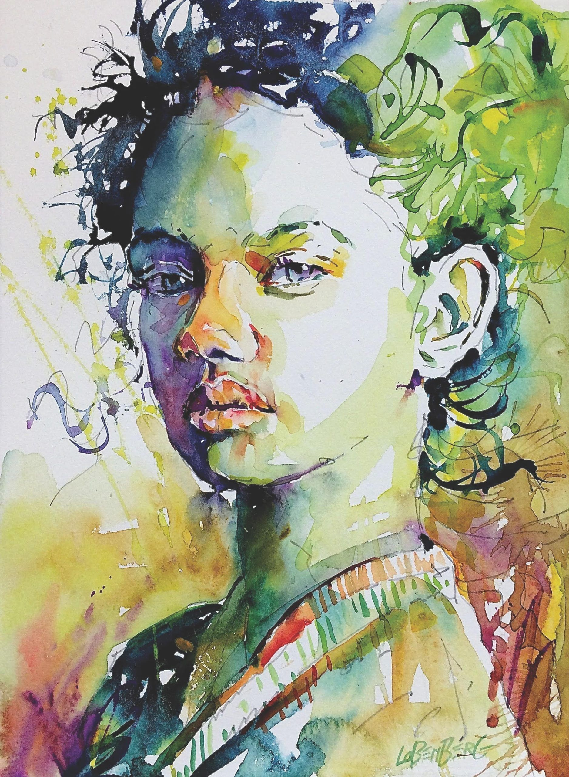 Gain Color Confidence In Pochade Portraits Watercolor Portraits