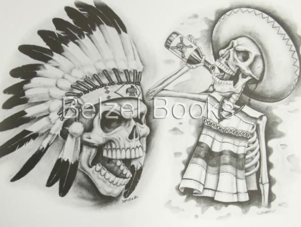 Lowrider Tattoo Flash Chicano. The World\'s Best Photos of loco and ...