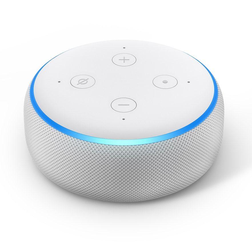 Amazon Echo Dot 3rd Gen Smart Speaker With Alexa Beig Green Amazon Echo Alexa Echo Amazon