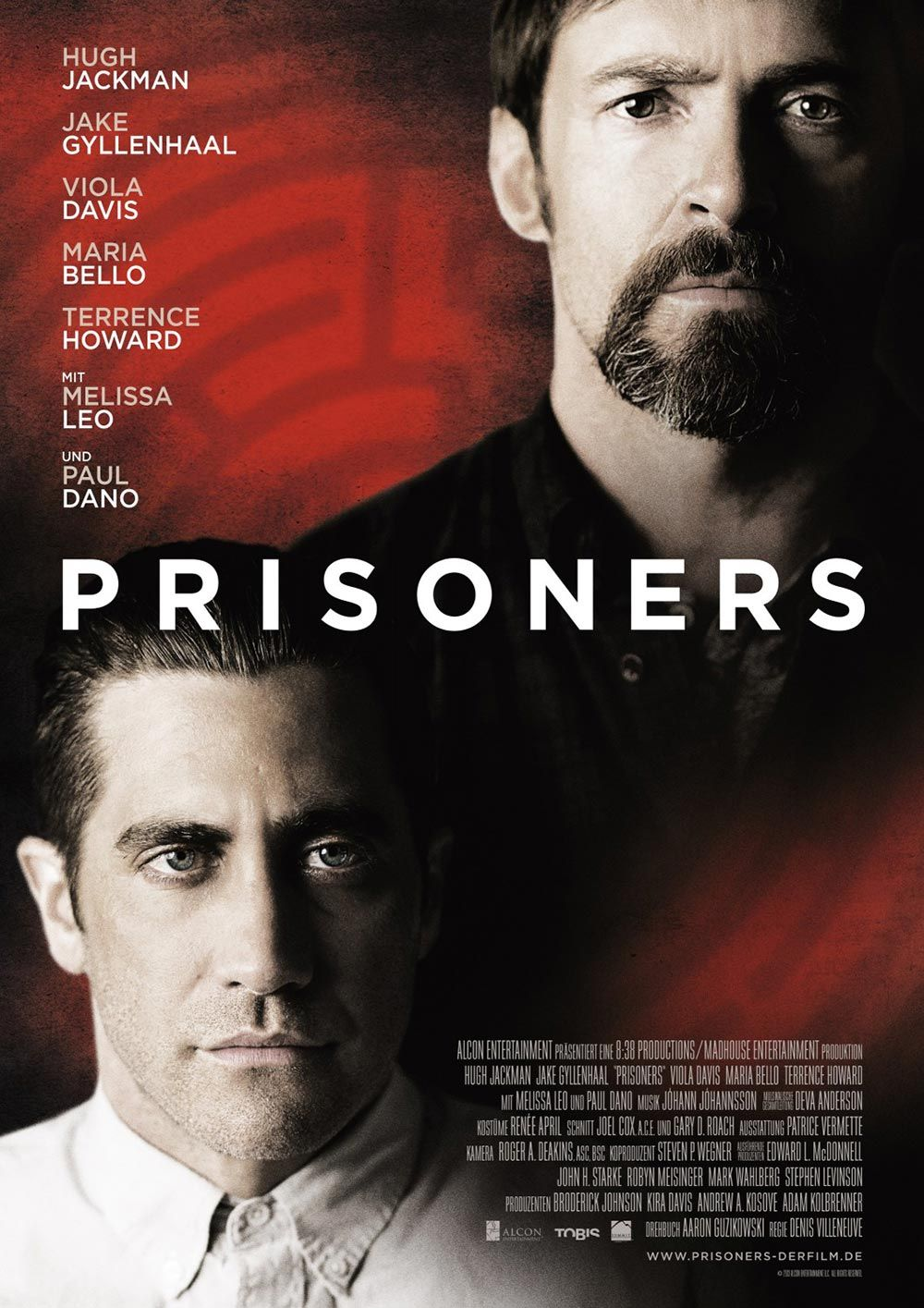 PRISONERS Heartbreaking movie of child kidnapping, very good. Just ...