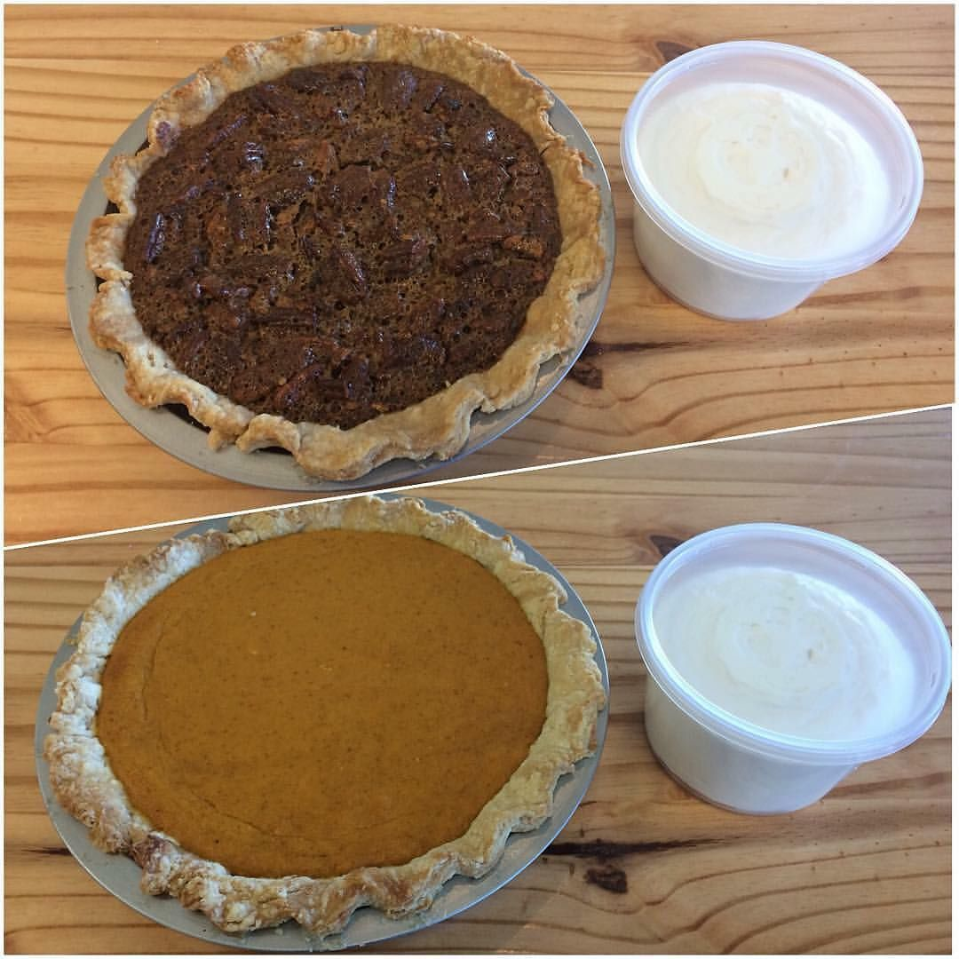 Hello November!! We are officially taking preorders for holiday pies!! Each pie is made from scratch and includes a tub of our amazing scratch made whipped cream!! We will have pies available in the bakery starting November 16th! Flavors will be Traditional Apple Dutch Apple Cranberry Apple Pecan and Pumpkin. Contact us at the bakery to get your order secured! #orcuttbakery #scratchmade #pie #thanksgiving
