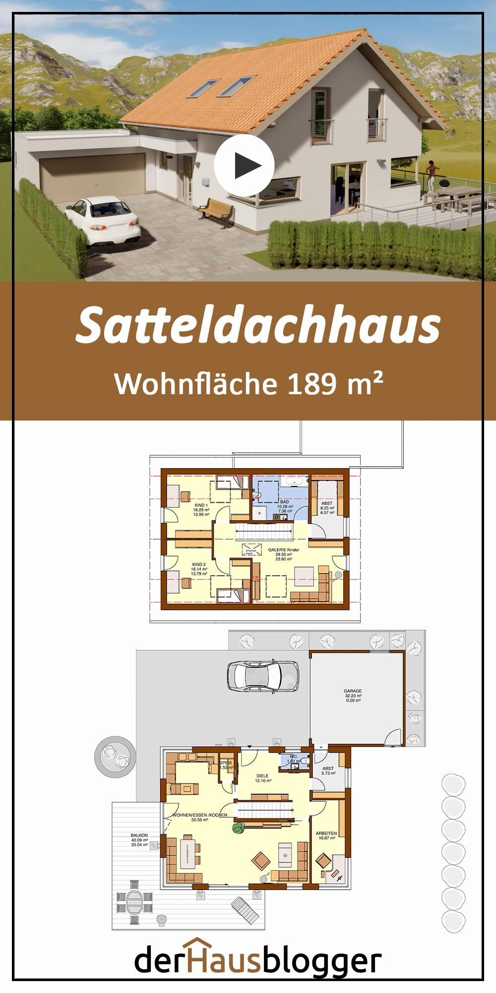 Photo of Satteldachhaus 189m2