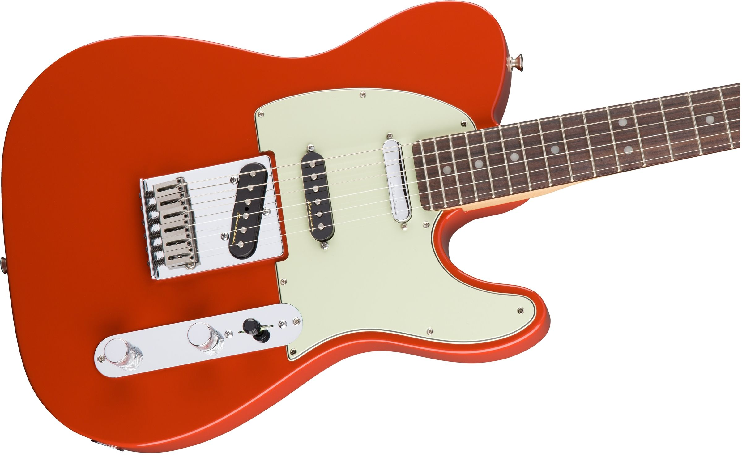 Fender 2016 Deluxe Nashville Telecaster Fiesta Red Rosewood Guitarras